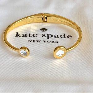 Kate Spade Logo Cuff- white
